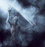 Gigantisk illustration 3D för demon stock illustrationer