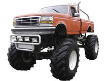 Gigantisk lastbil arkivbilder