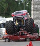 gigantisk lastbil Fotografering för Bildbyråer