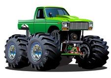 Gigantisk lastbil för tecknad film Royaltyfri Bild