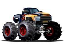 Gigantisk lastbil för tecknad film Royaltyfria Foton