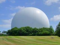 Gigantisk vit kupol Arkivfoto