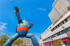 Gigantor机器人(Tetsujin 28)在神户,日本 库存图片