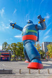 Gigantor机器人(Tetsujin 28)在神户,日本 图库摄影