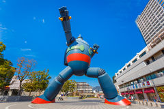 Gigantor-Roboter (Tetsujin 28) in Kobe, Japan Stockfotos