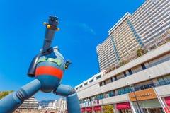 Gigantor-Roboter (Tetsujin 28) in Kobe, Japan Lizenzfreie Stockfotos