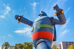 Gigantor-Roboter (Tetsujin 28) in Kobe, Japan Stockfotografie