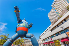 Gigantor-Roboter (Tetsujin 28) in Kobe, Japan Stockbilder