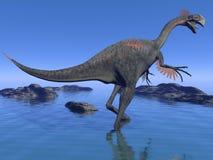 Gigantoraptor dinosaur - 3d render Stock Photo