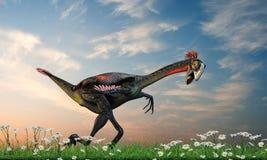 Gigantoraptor Royalty Free Stock Photos