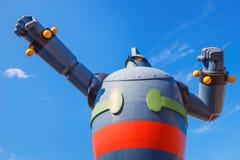 Gigantorrobot (Tetsujin 28) in Kobe, Japan Stock Afbeeldingen
