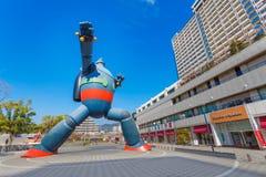 Gigantorrobot (Tetsujin 28) in Kobe, Japan Stock Foto's