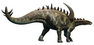 Gigantspinosaurus royaltyfri illustrationer