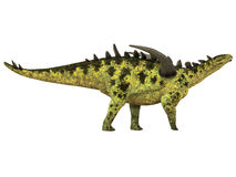 Gigantspinosaurus Side Profile Stock Photography