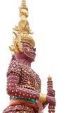 gigantyczna czerwona statua Zdjęcie Royalty Free