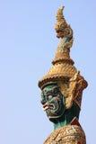 Gigantyczna demon głowa fotografia royalty free