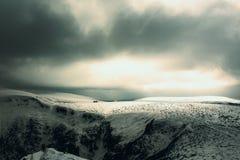 Gigantyczna góra i ich Gigantyczna kopalnia Fotografia Stock