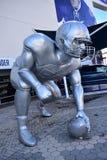 Gigantyczna gracz rzeźba Zdjęcie Royalty Free