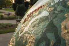 Gigantyczna kula ziemska Fotografia Stock