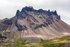Gigantyczna skała w Iceland Fotografia Royalty Free