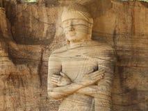 Gigantyczna statua Buddha Fotografia Royalty Free