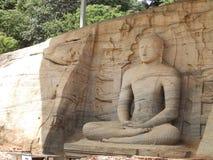 Gigantyczna statua Buddha Obrazy Royalty Free
