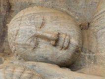 Gigantyczna statua spać Buddha Zdjęcie Stock