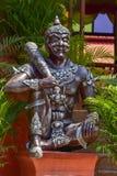 Gigantyczna statua w świątyni w Tajlandia royalty ilustracja