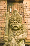 Gigantyczna statua z brown tłem. Tajlandzki Zdjęcia Royalty Free