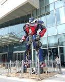 Gigantyczna transformator rzeźba zdjęcia royalty free