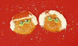 gigantyczne ciasteczka Fotografia Royalty Free
