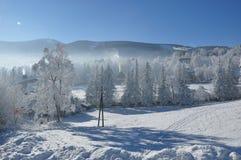 Gigantyczne góry/Karkonosze, Karpacz zima Obraz Royalty Free