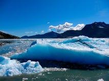Gigantyczne góry lodowa w Alaska Fotografia Royalty Free