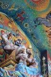 Gigantyczne statuy cztery ręki Obraz Royalty Free