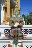 gigantycznego opiekunu hanuman prącia statuy broń Zdjęcie Stock