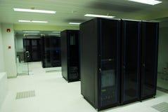 Gigantyczni komputerowi serwery izbowi Zdjęcia Royalty Free