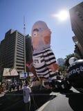 Gigantyczni pro impeachmentów balony Obraz Royalty Free
