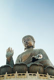 Gigantyczny Buddha w Hong Kong Obrazy Stock