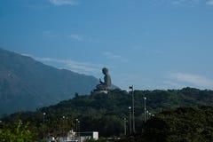 Gigantyczny Buddha w Hongkong Fotografia Stock