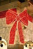 Gigantyczny czerwony faborek, Wiedeń Obraz Royalty Free