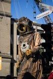 Gigantyczny Dalekomorski nurek Zdjęcie Stock