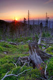 gigantyczny góra słońca Zdjęcie Stock