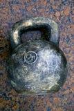 gigantyczny kettlebell zdjęcie royalty free