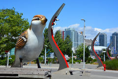 Gigantyczny ptak Fotografia Royalty Free