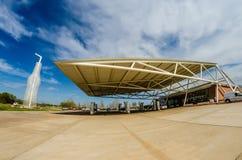 Gigantyczny punkt zwrotny sodowani wystrzały pomnikowi w arcadia Oklahoma Zdjęcia Royalty Free