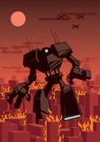 gigantyczny robot royalty ilustracja