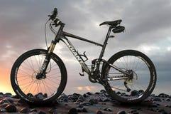 Gigantyczny rower górski Fotografia Stock