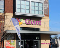 Gigantyczny sklep spożywczy Fotografia Stock