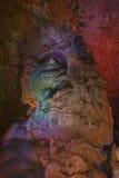 gigantyczny stalagmit Zdjęcia Royalty Free
