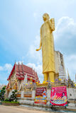 Gigantyczny złoty Buddha, buddyzm, Tajlandia zdjęcia stock